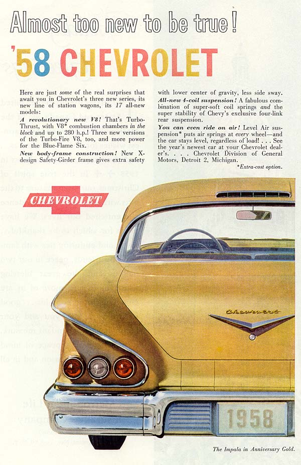 Chevrolet period pictures